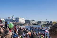 Demostración anti de TTIP en Berlín Imágenes de archivo libres de regalías