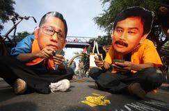Demostración anticorrupción Imagen de archivo