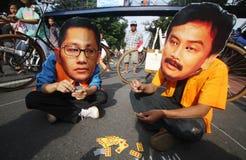 Demostración anticorrupción Fotografía de archivo