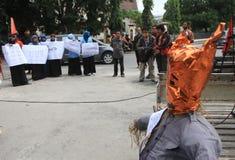 Demostración anticorrupción Imagenes de archivo