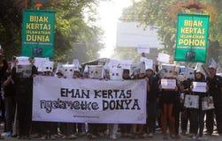 Demostración anticorrupción Fotografía de archivo libre de regalías