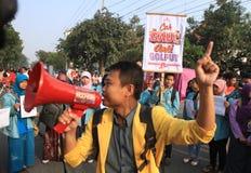 Demostración anticorrupción Foto de archivo