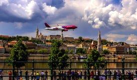 Demostración asombrosa en Budapest Imagen de archivo