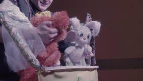 Del Cómica Teatro Marionetas Demostración Conejo Zorro De Y Las SqVGUzpM