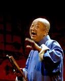 Demostración china de la música de Rap: JINQIANBAN Fotos de archivo libres de regalías