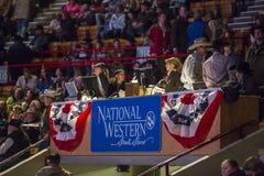 Demostración común occidental en Denver Foto de archivo
