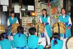 Demostración coreana Fotografía de archivo libre de regalías