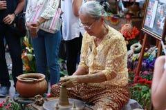 Demostración cultural de Asia Imágenes de archivo libres de regalías