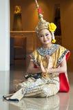 Demostración cultural tailandesa Imagen de archivo libre de regalías