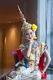 Demostración cultural tailandesa Fotos de archivo libres de regalías
