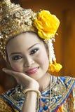 Demostración cultural tailandesa Fotografía de archivo