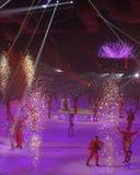 Demostración - día de fiesta en el hielo Imagenes de archivo