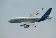 Demostración de aire A380 Fotografía de archivo libre de regalías