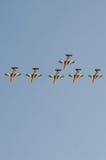Demostración de aire internacional de Bahrein 2012 Fotos de archivo