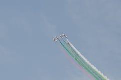 Demostración de aire internacional de Bahrein 2012 Fotografía de archivo libre de regalías