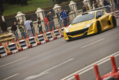 Demostración de camino de Renault Bucarest imagen de archivo