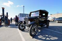 Demostración de coche antiguo Imágenes de archivo libres de regalías