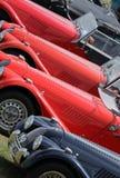 Demostración de coche clásica, Silverstone Fotografía de archivo