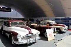 Demostración de coche de la vendimia Imagen de archivo libre de regalías