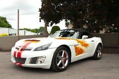 Demostración de coche de los nacionales de Syracuse Foto de archivo libre de regalías