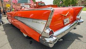 Demostración de coche en Manchester Connecticut Imagen de archivo