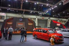 Demostración de coche modificada en el International 2017 de Bangkok Imagen de archivo libre de regalías
