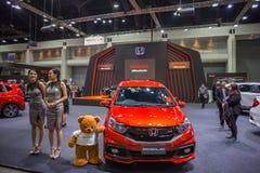 Demostración de coche modificada en el International 2017 de Bangkok Foto de archivo