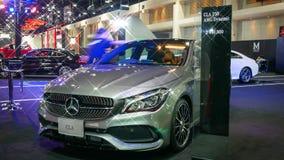 Demostración de coche modificada en el salón auto internacional 2018 de Bangkok Foto de archivo libre de regalías