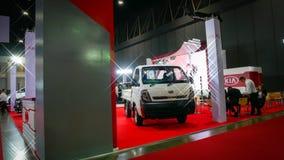 Demostración de coche modificada en el salón auto internacional 2018 de Bangkok Fotos de archivo libres de regalías