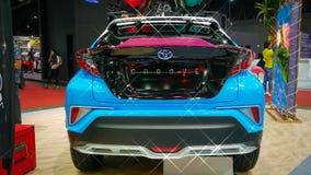 Demostración de coche modificada en el salón auto internacional 2018 de Bangkok Imagenes de archivo