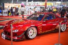 Demostración de coche modificada en el salón auto internacional 2018 de Bangkok, Imágenes de archivo libres de regalías