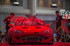 Demostración de coche modificada en el salón auto internacional 2018 de Bangkok Fotografía de archivo libre de regalías