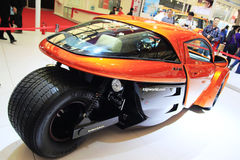 Demostración de coche Shangai 2011 Imagen de archivo libre de regalías