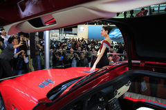Demostración de coche Shangai Fotos de archivo libres de regalías