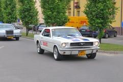 Demostración de coches de la vendimia Imagenes de archivo