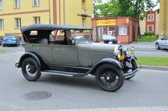 Demostración de coches de la vendimia Fotos de archivo