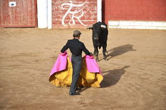 Demostración de Corrida en España Fotos de archivo