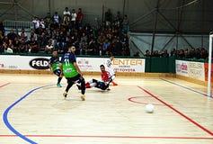 Demostración de Futsal Fotografía de archivo libre de regalías