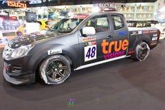Demostración de ISUZU D-MAX en el segundo salón auto internacional de Bangkok imagen de archivo