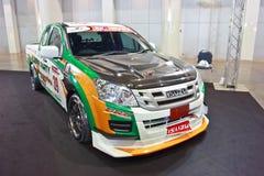 Demostración de ISUZU D-MAX en el segundo salón auto internacional de Bangkok imagenes de archivo