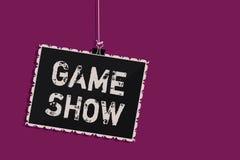 Demostración de juego del texto de la escritura de la palabra Concepto del negocio para el programa en la televisión o la radio c libre illustration