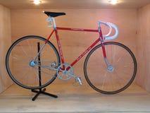 Demostración de la bicicleta del vintage Fotografía de archivo