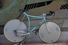 Demostración de la bicicleta del vintage Imagen de archivo