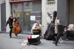 Demostración de la calle Fotografía de archivo libre de regalías