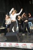 Demostración de la danza Imagen de archivo libre de regalías