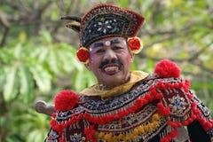 Demostración de la danza de Barong, Bali fotografía de archivo