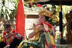 Demostración de la danza de Barong, Bali Imagenes de archivo