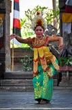 Demostración de la danza de Barong Fotografía de archivo