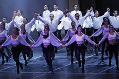 Demostración de la danza popular Imagen de archivo libre de regalías