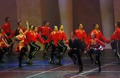 Demostración de la danza popular Imagenes de archivo